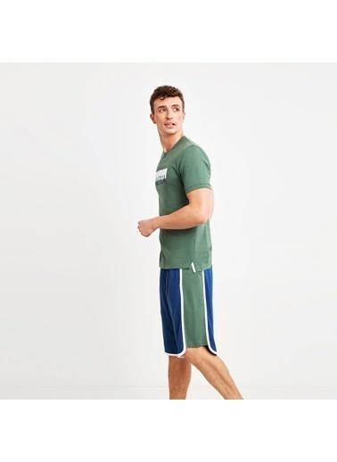 Nautica M114SORTTK.YES Nautıca Erkek Yeşil Pijama Takımı Yeşil